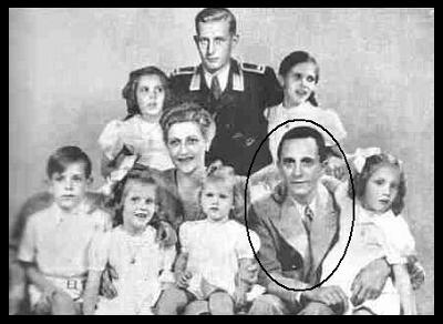 Goebbels with his family